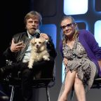 Carrie Fisher's Dog Gary Reportedly Had A Heartbreaking Reaction While Watching 'Star Wars: The Last Jedi'