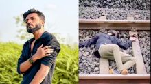 An influencer went viral for posting a video that looked like he died after jumping in front of a train. Then police arrested him and accused him of faking his own death for clout.