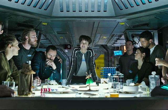 'Alien: Covenant' preview evokes original's nostalgic last supper