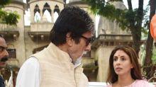 Sushmita, Kajol, The Bachchans and The Kapoors enjoy Durga Puja festivities