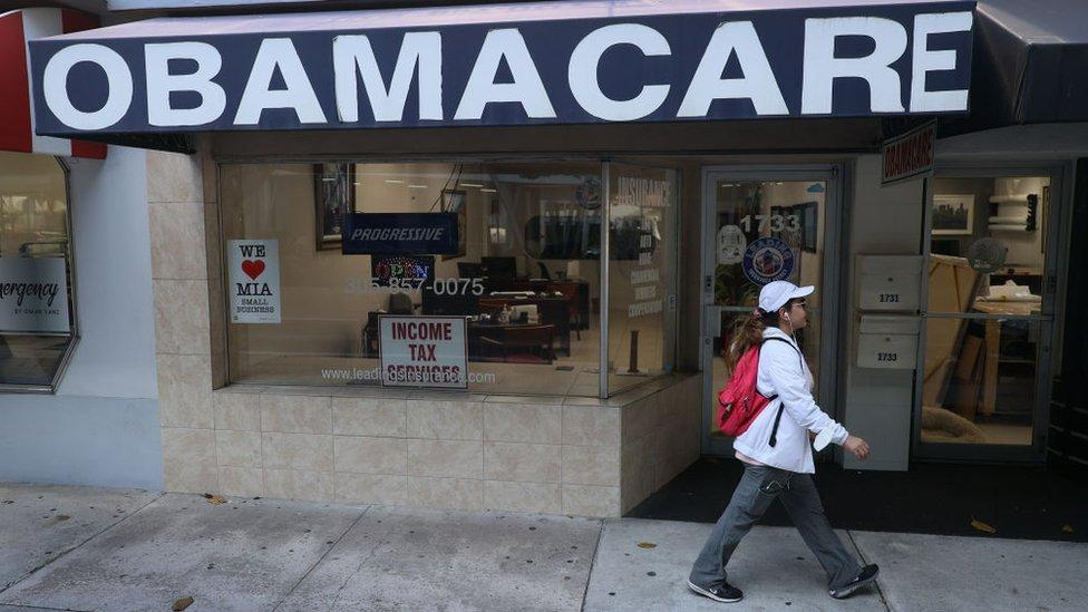 US Supreme Court rejects Trump-backed challenge to Obamacare