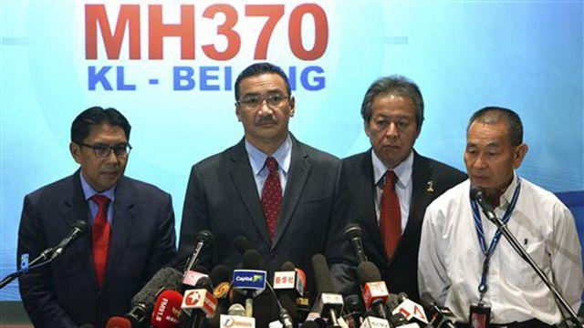 The media's coverage of missing Malaysian flight 370