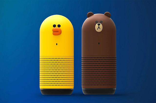 Line's cute AI speakers are unimpressed by your mindless requests
