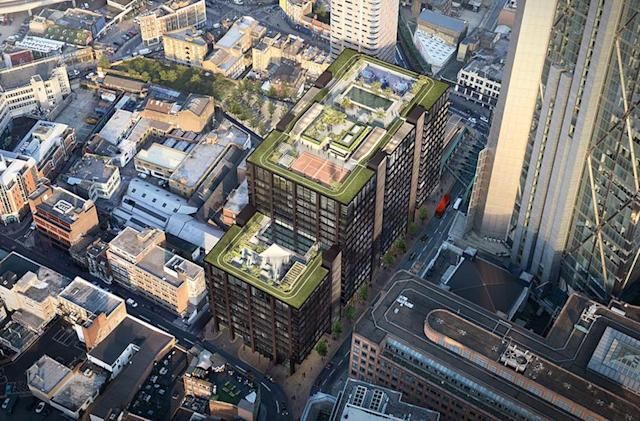 A look at Amazon's new East London HQ