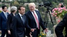 At G7, 'pragmatist' Trump leaves a mark on new boy Macron