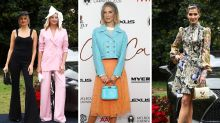 Aussie stars frock up and rock up for Melbourne Cup launch