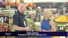 Greg Foran discusses Walmart's growing e-commerce presence, and his upbeat perspective for future of brick and mortar stores