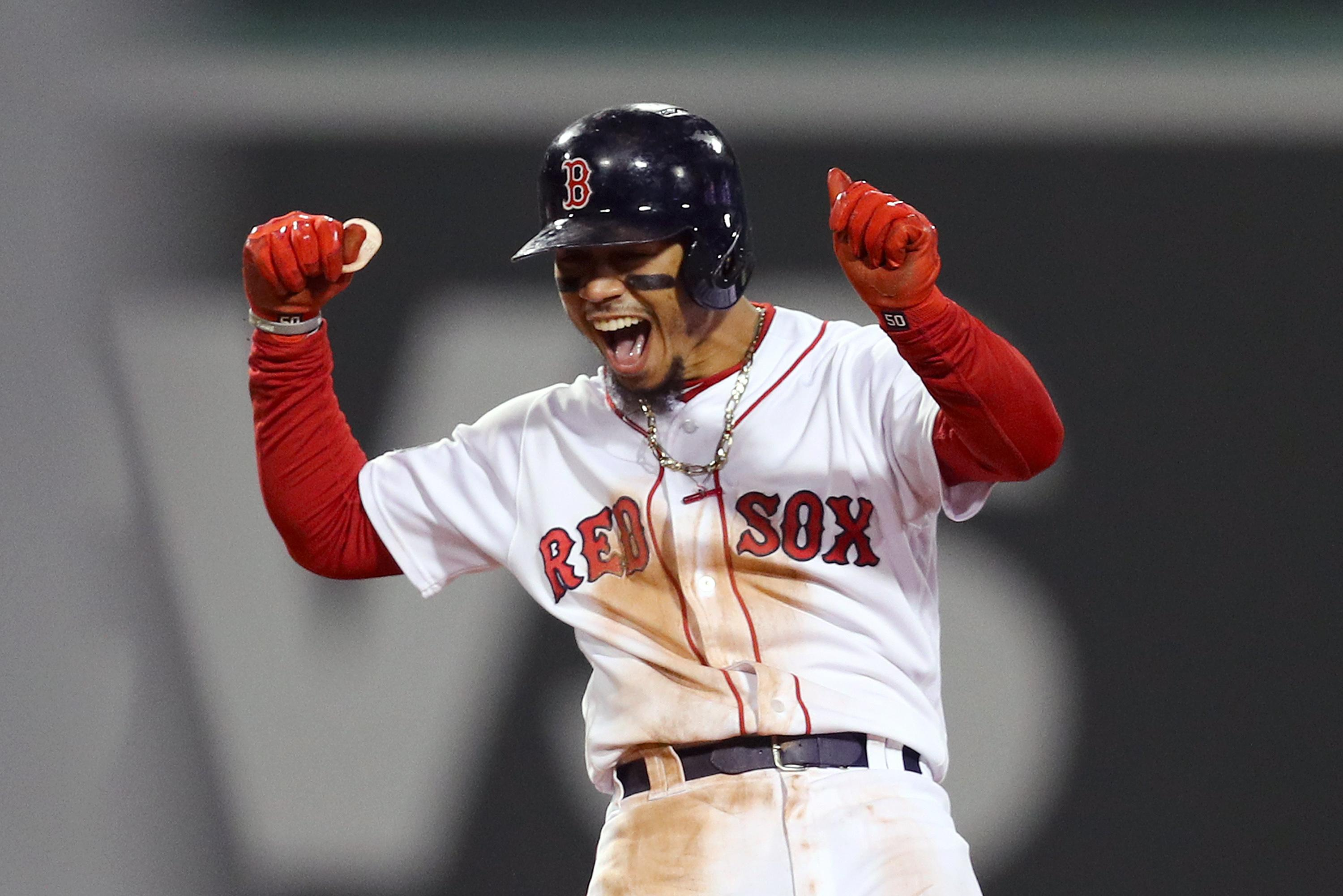 Red Sox Of Mookie Betts Is A Better Person Than You