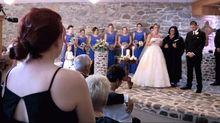 Braut spricht Ehegelübde für Ex-Frau ihres Mannes