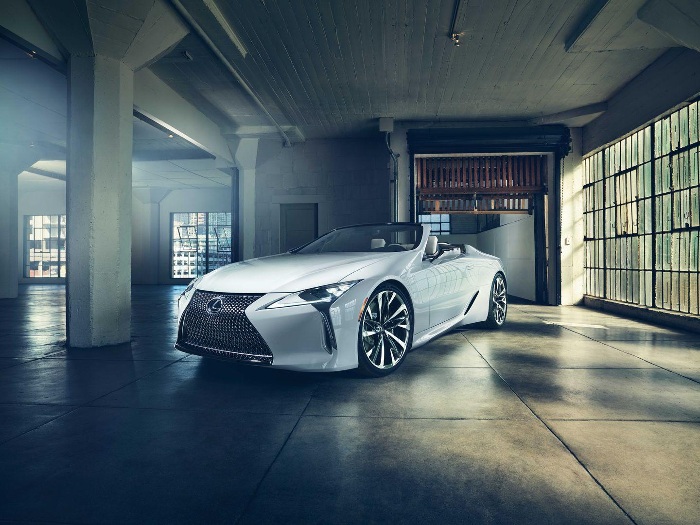 """<p>What's there to think about, Lexus? <a href=""""https://www.caranddriver.com/lexus/lc"""" rel=""""nofollow noopener"""" target=""""_blank"""" data-ylk=""""slk:The slinky LC coupe"""" class=""""link rapid-noclick-resp"""">The slinky LC coupe</a> that's been on sale since 2017 still looks like a concept car that Lexus accidentally shipped to dealerships.</p>"""