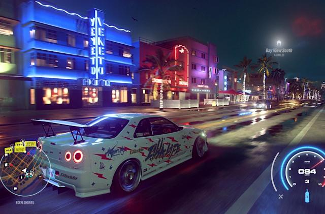 'Need For Speed Heat' is the first EA title to offer cross-play