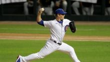 Cubs' Ross non-committal when asked about Kimbrel as closer