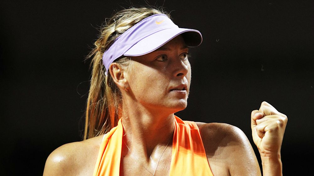 Sharapova inches closer to controversial Stuttgart crown