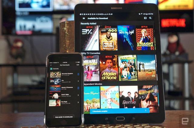Netflix's offline viewing mode was inevitable