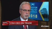 CSX customers will likely bear the burden of higher steel tariffs: CEO