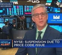 NYSE trading suspended in various stocks