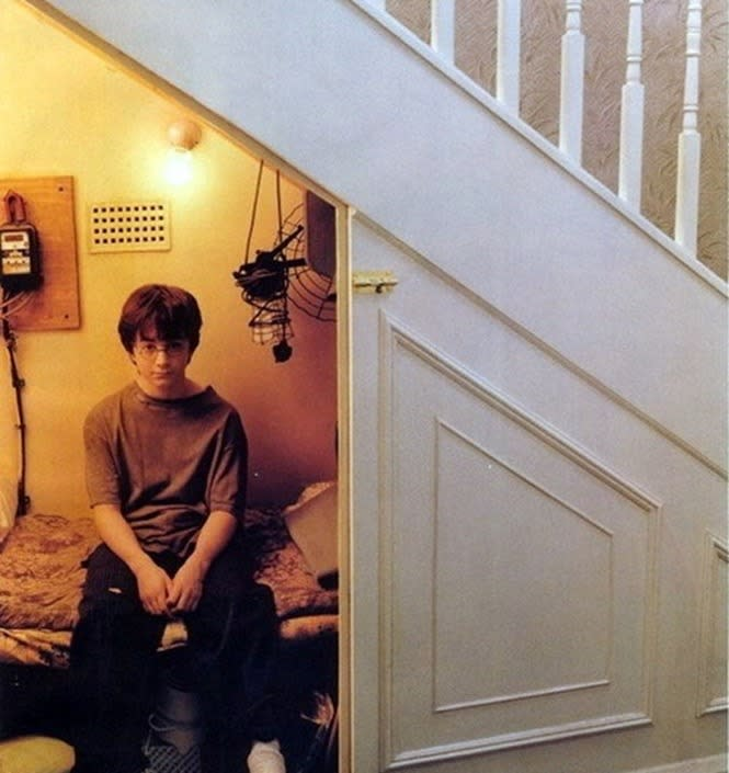 cupboard under the stairs harry potter 2