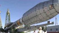 Russia Prepares Soyuz Rocket for Launch