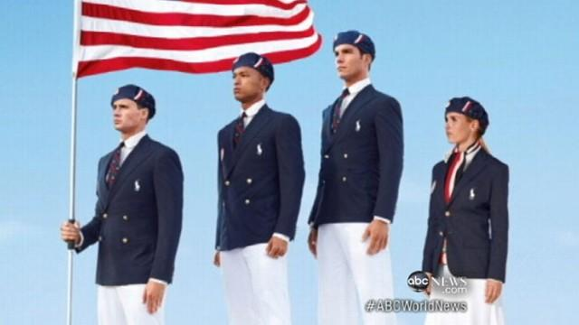 Outsourced Olympic Uniforms Cause Outrage