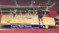 Bulldogs Volleyball host tourney with Oregon in town