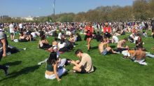 420 Day at Hyde Park: Cannabis supporters insist event is a peaceful protest as 'weed is a gift from God'