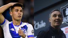 """Pablo Galdames reconoció que Marcelo Espina quiso llevarlo Colo Colo: """"Habló con mi representante un par de veces"""""""