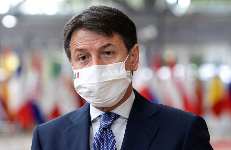 Italy's Conte to announce new measures against virus surge on Sunday