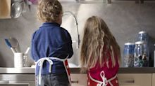 """Don't Give Kids """"Chores."""" Teach Them That Helping out Is Part of Being a Family."""