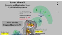Erdene Intersects High-Grade Gold at Bayan Khundii Project Confirming Resource Expansion Potential