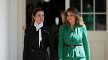 What's Wrong With This Photo of Melania Trump and Queen Rania?