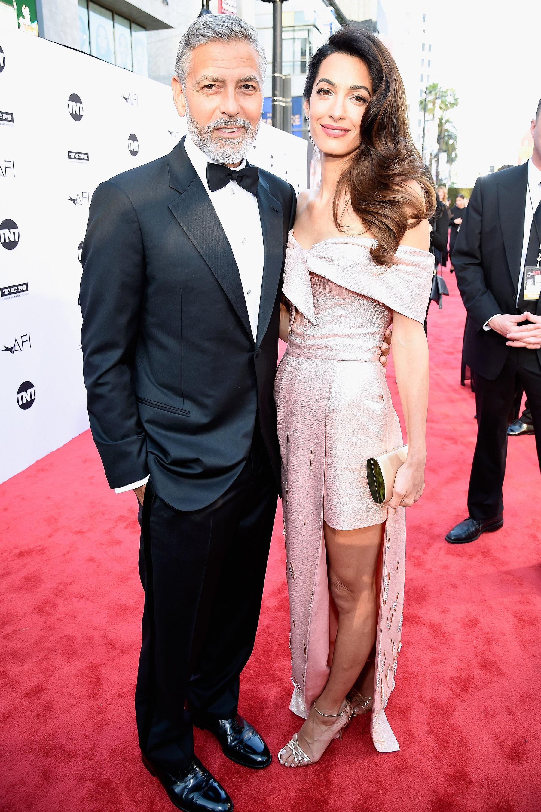 George Clooney Says His Twins Ella and Alexander 'Slept ...
