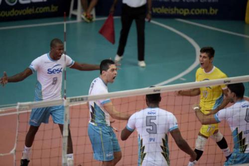 SESC-RJ e Jaó/Universo se isolam na liderança da Superliga B