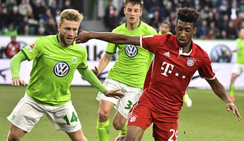 Bundesliga: Medien: Manchester City heiß auf Kingsley Coman