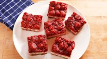 Raspberry Cheesecake Bars Are A Perfect Dessert