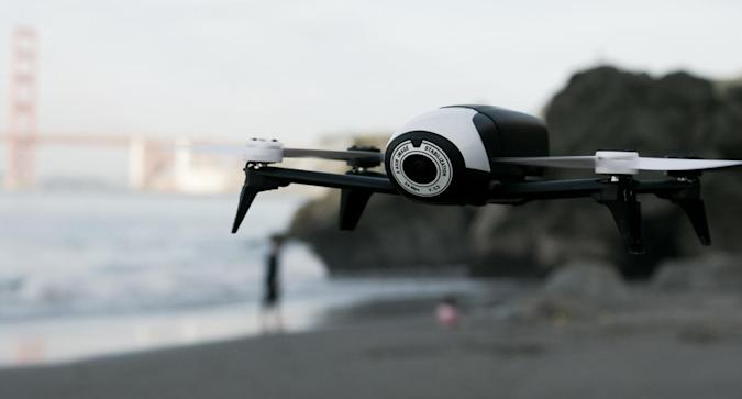 Flying a drone is easier when the battery doesn't die right away