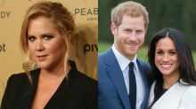 Amy Schumer called the royal wedding a 'dog show'; fans called her a 'jealous pig'