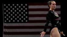 Chellsie Memmel, 2008 Olympian, enters first gymnastics meet in 9 years
