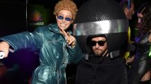 Jessica Biel Dressed Up as Justin Timberlake in 'NSYNC for Halloween — See the Hilarious Photos