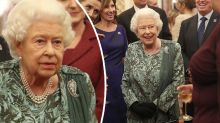 Death hoax exposed as Queen steps out with Kate and Camilla
