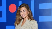 Eva Mendes Added Sweet Strawberry Highlights to Her Brown Hair for Summer