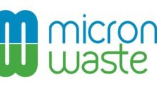 Micron Waste Provides Corporate Update