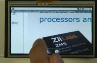 Video: ZiiLABS demos Android in HD on ZMS-05 processor