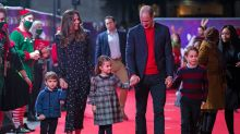 Duke and Duchess of Cambridge toast marshmallows with their children in family video
