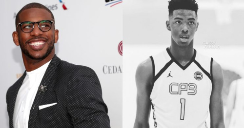 LA Clippers star Chris Paul and recent 2017 draft pick Harry Giles have a relationship that formed when Giles played for Paul's AAU teams during the summer. Paul tweeted his support to Giles after the former Duke freshman earned a spot in the NBA. (Getty Images/@bigticket_hg/Instagram)