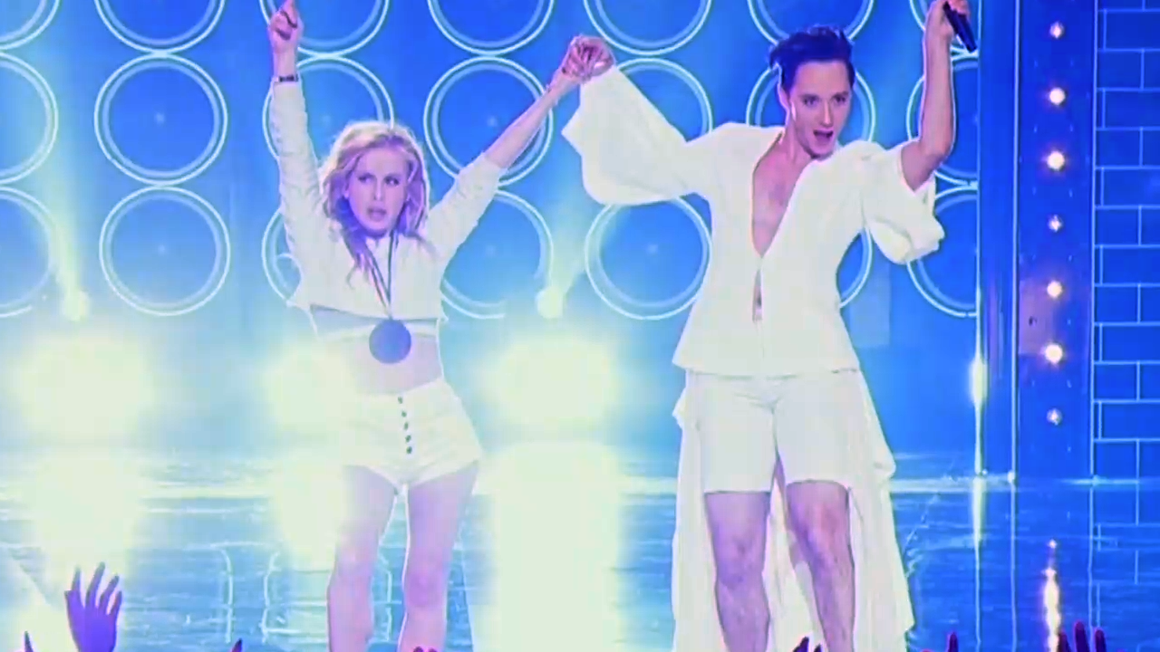 Johnny Weir gets the gold on Winter Olympics 'Lip Sync ...