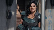 How Gina Carano's once bright 'Star Wars' future on 'The Mandalorian' flamed out