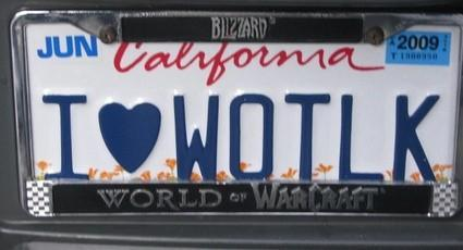 A license plate fit for an epic frame