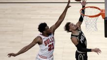 Hawks win 120-108, overcome 50-point game by Bulls' LaVine