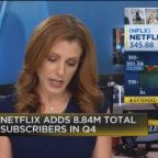Netflix shares drop on mixed fourth-quarter earnings