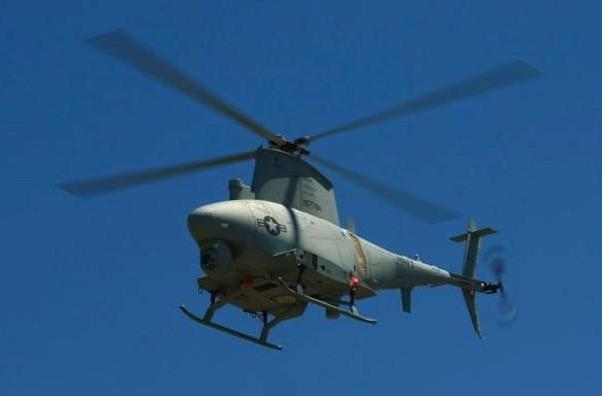 Navy launches first drone squadron, comprised of ten Fire Scout MQ-8Bs